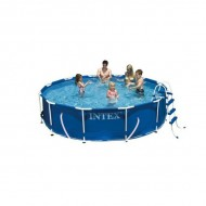 Intex Metal Frame Pool 305 x 76 cm rond zwembad