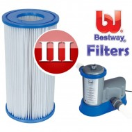 Bestway Zwembadpomp filter cardridge type 3