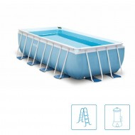 Intex Prism Rectangle Ultra Frame Pool 400 x 200 cm