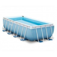 Intex Prism Rectangle Ultra Frame Pool 488 x 244 cm