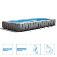 Intex Rectangle Ultra Frame Pool 975 x 488 x 132 cm