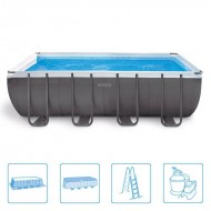 Intex Rectangle Ultra Frame Pool 549 x 274 x 132 cm