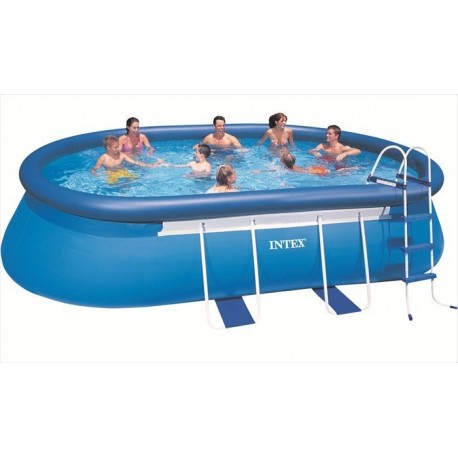 Intex Oval Frame Pool 549 X 305 X 107 CM Ovaal Easy Set Frame