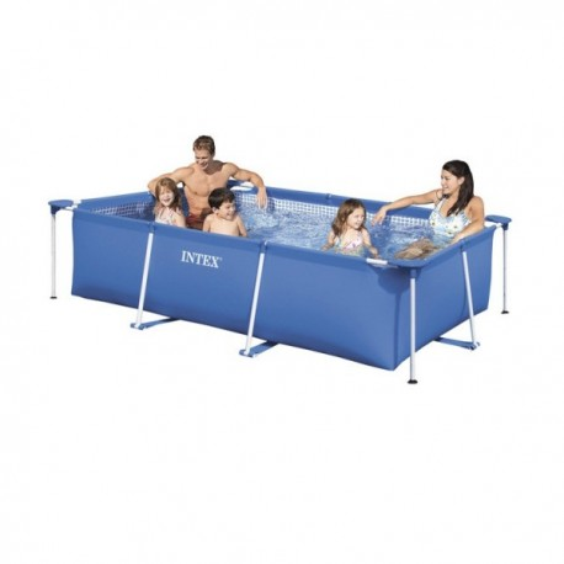 Intex Metal Frame Pool 300 x 200 x 76 cm met pomp
