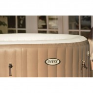 Intex Pure Spa 4 persoons Bubble Spa Therapy met ontkalk systeem