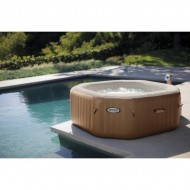 Intex PureSpa Bubble Therapy Octagon 4 pers