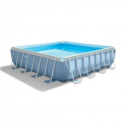 Intex Prism Frame zwembad vierkant 427x427x107 cm